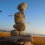 photography, art, balance, stone balancing, rock sculptures, Greenwich, Bill Dan, Andy Goldsworthy, Nature Artist
